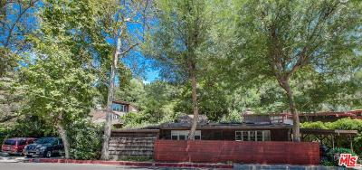 Single Family Home For Sale: 1840 North Beverly Glen