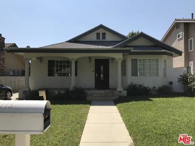 Pasadena Single Family Home For Sale: 1115 Wesley Avenue