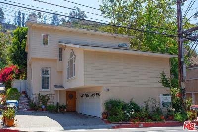 Single Family Home For Sale: 1110 North Beverly Glen Boulevard
