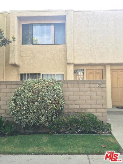 Northridge Condo/Townhouse For Sale: 8633 Balboa #27