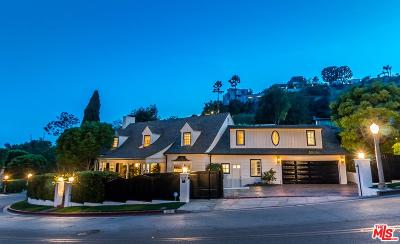 Sunset Strip - Hollywood Hills West (C03) Single Family Home For Sale: 1277 Sunset Plaza Drive