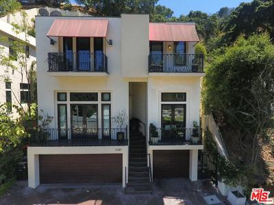 Sunset Strip - Hollywood Hills West (C03) Single Family Home For Sale: 3087 Passmore Drive