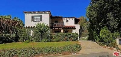 Beverly Hills Single Family Home For Sale: 1121 Tower Road