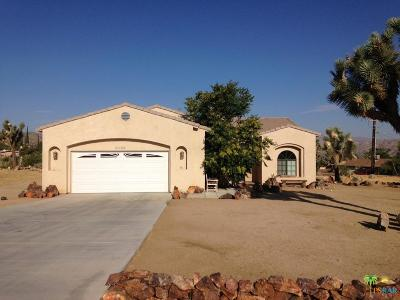 Yucca Valley Single Family Home For Sale: 8022 Sage Avenue