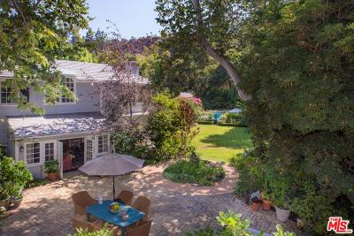 Single Family Home For Sale: 2401 Mandeville Canyon Road