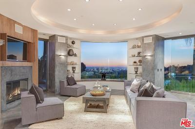 Sunset Strip - Hollywood Hills West (C03) Single Family Home For Sale: 1750 Viewmont Drive