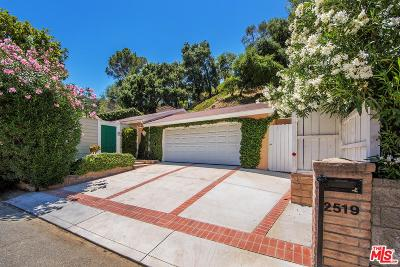 Beverly Hills Single Family Home For Sale: 2519 Hutton Drive