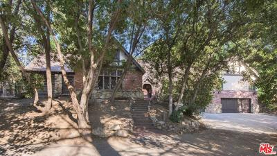 Single Family Home For Sale: 2815 Nichols Canyon Road
