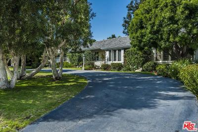 Santa Monica Single Family Home For Sale: 877 Woodacres Road