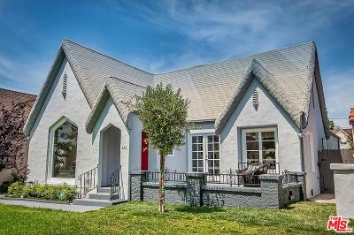 Single Family Home For Sale: 161 South Poinsettia Place