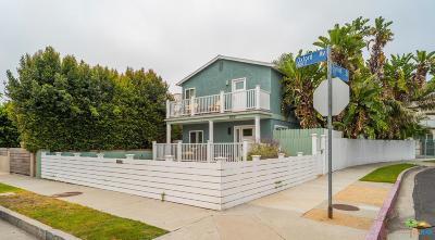 Marina Del Rey Single Family Home For Sale: 859 Oxford Avenue