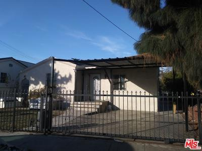 Los Angeles Single Family Home For Sale: 759 East 40th Place