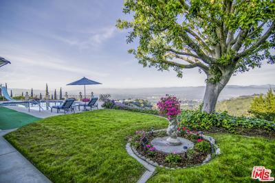 Los Angeles Single Family Home For Sale: 8416 Skyline Drive