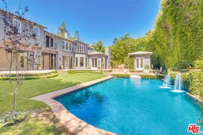 Pacific Palisades Single Family Home For Sale: 1476 Amalfi Drive