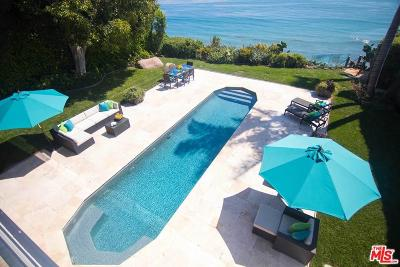 Malibu Single Family Home For Sale: 32802 Pacific Coast Highway