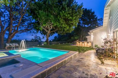 Pacific Palisades Single Family Home For Sale: 16601 Pequeno Place