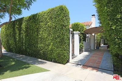 West Hollywood Single Family Home For Sale: 8819 Rosewood Avenue