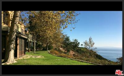 Malibu Single Family Home For Sale: Carbon Mesa Road