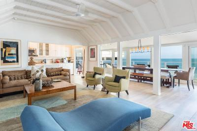 Malibu Single Family Home For Sale: 19232 Pacific Coast Highway