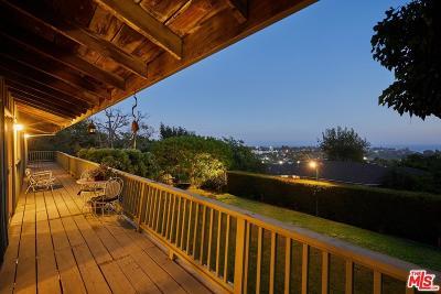 Pacific Palisades Single Family Home For Sale: 1045 El Medio Avenue