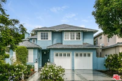 Pacific Palisades Single Family Home For Sale: 547 North Tahquitz Place