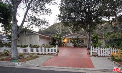 Malibu Single Family Home For Sale: 5925 Paseo Canyon Drive