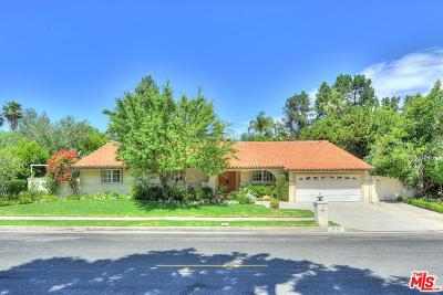 Single Family Home For Sale: 2727 Casiano Road