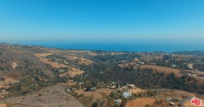 Malibu Residential Lots & Land Active Under Contract: 5330 Kanan Dume