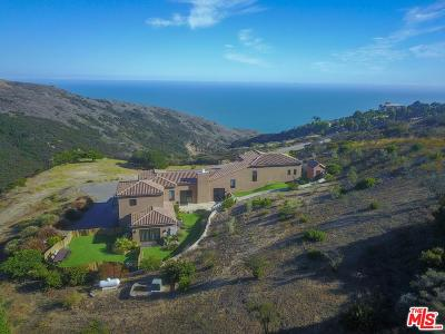 Malibu Single Family Home For Sale: 3710 Decker Edison Road