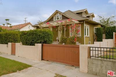 Single Family Home For Sale: 1430 Carmona Avenue