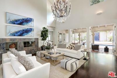 Pacific Palisades Single Family Home For Sale: 1422 Monte Grande Place