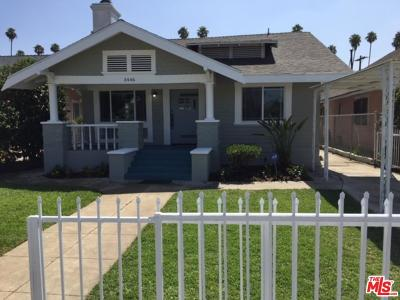 Los Angeles Single Family Home For Sale: 3446 3rd Avenue