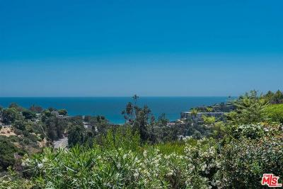 Pacific Palisades Single Family Home For Sale: 16926 Dulce Ynez Lane