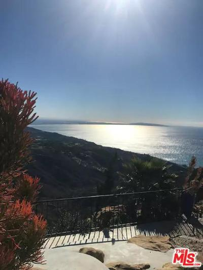 Malibu Single Family Home For Sale: 2145 Rambla Pacifico