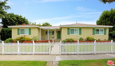 Culver City Single Family Home For Sale: 5008 Pickford Way