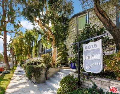 Culver City Condo/Townhouse For Sale: 5815 Doverwood Drive #34