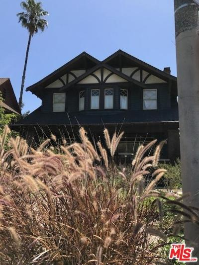 Los Angeles Single Family Home For Sale: 1800 South Hobart