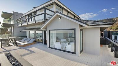 Malibu Single Family Home For Sale: 21818 Pacific Coast Highway