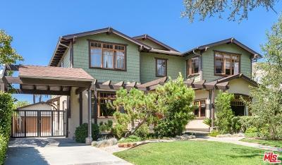Santa Monica CA Single Family Home For Sale: $4,275,000