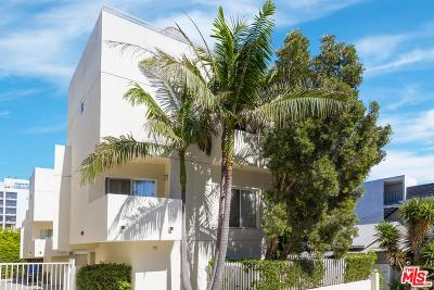 West Hollywood Condo/Townhouse For Sale: 1014 Hilldale Avenue