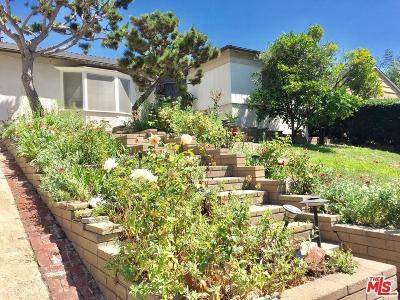 Cheviot Hills/Rancho Park (C08) Single Family Home For Sale: 10560 Clarkson Road