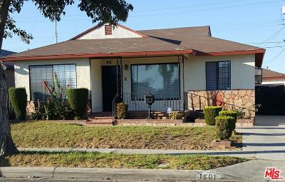 Compton Single Family Home For Sale: 1501 West Piru Street