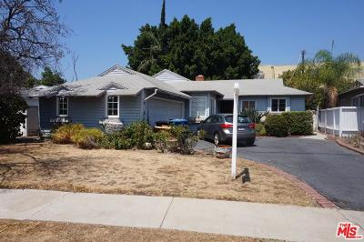 Valley Village Single Family Home For Sale: 12247 Killion Street