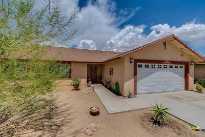 Yucca Valley Single Family Home For Sale: 55520 Iona Lane
