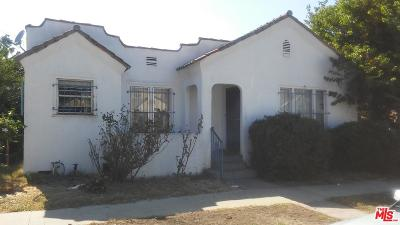 Los Angeles Single Family Home For Sale: 6411 Kansas Avenue