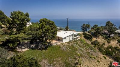 Malibu Single Family Home For Sale: 4563 Via Vienta Street