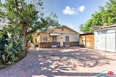 Single Family Home For Sale: 11315 Victoria Avenue