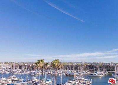 Marina Del Rey Condo/Townhouse Sold: 4314 Marina City Drive #128