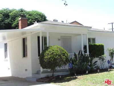Culver City Single Family Home For Sale: 3841 Globe Avenue