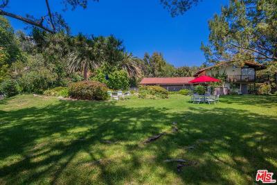 Pacific Palisades Single Family Home For Sale: 15951 Alcima Avenue